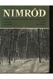 Nimród 1972. évfolyam (teljes) - Régikönyvek