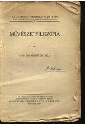 Művészetfilozófia - Régikönyvek
