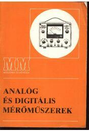 Analóg és digitális mérőműszerek - Régikönyvek