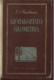 Szórakoztató geometria - Régikönyvek