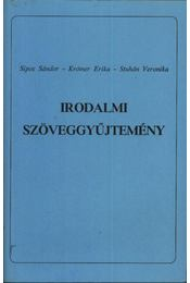 Irodalmi szöveggyűjtemény - Sipos Sándor, Krómer Erika, Stuhán Veronika - Régikönyvek