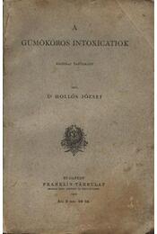 A Gümőkóros intoxicatiok - Régikönyvek