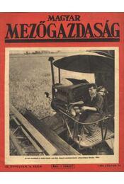 Magyar Mezőgazdaság - IX. évfolyam, 14. szám - Régikönyvek