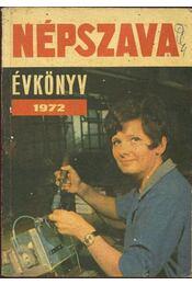 Népszava évkönyv 1972 - Régikönyvek