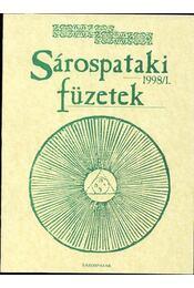 Sárospataki füzetek 1998/1. - Régikönyvek