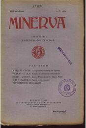 Minerva 1929 VIII.évfolyam 4-7. szám - Régikönyvek