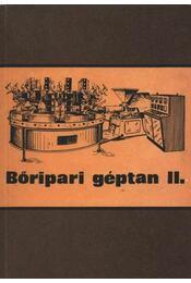 Bőripari géptan II. - Régikönyvek