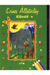 Színes állatvilág kifestő - Régikönyvek
