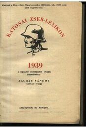 Katonai Zseblexikon 1939 - Régikönyvek