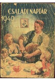 Családi naptár 1949 - Régikönyvek