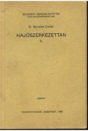 Hajószerkezettan II. - Régikönyvek