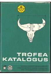 Trófea katalógus - Régikönyvek