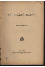 Az istállótrágya - Régikönyvek