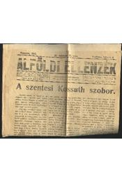 Alföldi ellenzék XII. évf. 25. szám - Régikönyvek