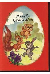 Húsvéti készülődés - Régikönyvek