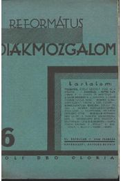 Református Diákmozgalom 1930. február - Régikönyvek
