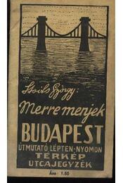 Merre menjek? Budapest - Régikönyvek