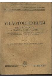 Világtörténelem - Régikönyvek