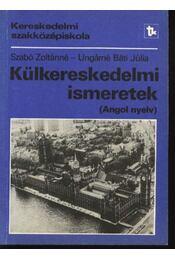 Külkereskedelmi ismeretek - Régikönyvek