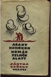 Arany homokon nomád felhők alatt - Régikönyvek