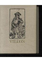 Villon balladái - Régikönyvek