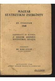 Magyar Statisztikai Zsebkönyv - Régikönyvek
