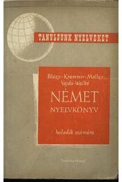 Német nyelvkönyv II. rész - Régikönyvek
