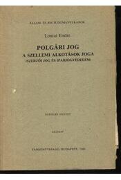 Polgári jog - Régikönyvek