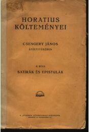 Horatius költeményei II. rész - Régikönyvek