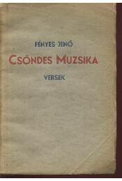 Csöndes muzsika (dedikált) - Régikönyvek