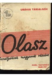 Olasz beszélgetések magyarok részére - Régikönyvek