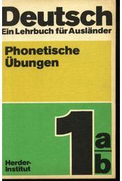 Deutsch . Ein Lehrbuck für Auslander . Phonetische Übungen - Régikönyvek