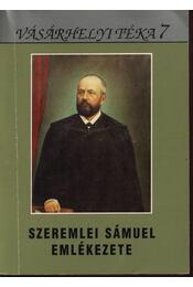 Szeremlei Sámuel emlékezete - Régikönyvek