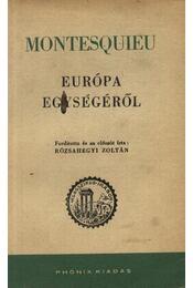 Európa egységéről - Régikönyvek