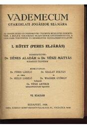 Vademecum gyakorlati jogászok számára - Régikönyvek