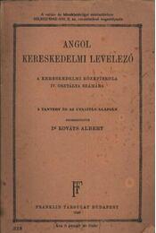 Angol kereskedelmi levelező - Régikönyvek