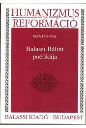 Balassi Bálint poétikája - Régikönyvek