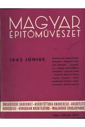 Magyar Építőművészet 1942. június - Régikönyvek