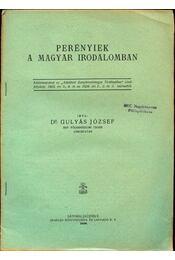 Perényiek a magyar irodalomban - Régikönyvek