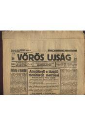 Vörös Újság 1919. évf. válogatott számai(jún-aug) - Régikönyvek