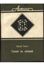 Fémek és atomok - Régikönyvek