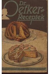 Dr. Oetker receptek - Régikönyvek