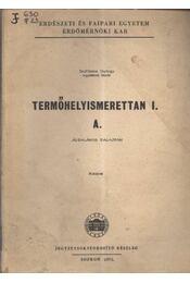 Termőhelyismerettan I. A. - Régikönyvek