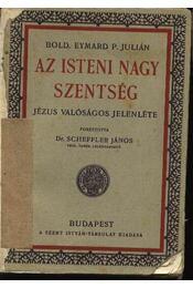 Az isteni nagy szentség - Régikönyvek