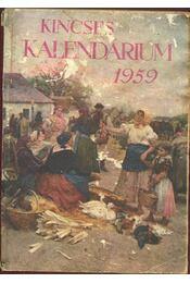 Kincses kalendárium 1959 - Régikönyvek
