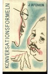 Konversationsformeln - Régikönyvek
