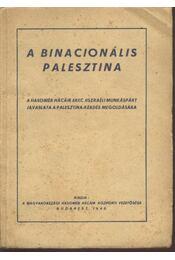 A binacionális Palesztina - Régikönyvek
