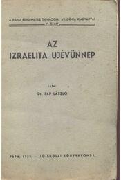 Az izraelita ujévünnep - Régikönyvek