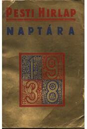 Pesti Hírlap Naptára 1938. - Régikönyvek
