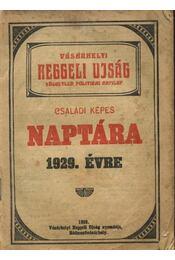 Vásárhelyi Reggeli Ujság családi képes naptára 1929. évre - Régikönyvek